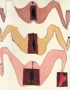 Carol Rama: Cadeau (C.21) 2000 24,7 x 19,7 cm Vernis mou on zinc (Ivory mould-made paper Muguet Duch�ne, Moulin de Larroque, �49,5 x 34,5 cm) Edition: 19 + III