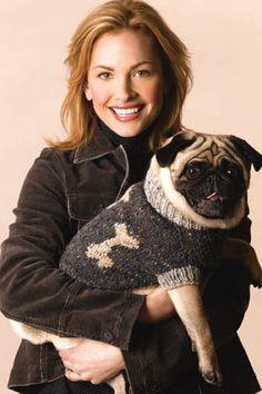 Free pattern...Dog Sweater in Tahki Yarns Donegal Tweed