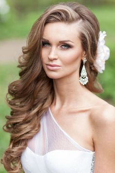 Bridal Hairstyles Inspiration : 26 Perfect Wedding Hairstyles with Glam | www.deerpearlflow