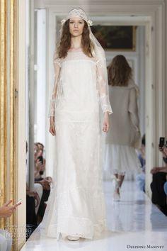 delphine manivet bridal spring 2013 hilaire wedding dress