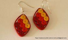 PaperCraftwithAditi: More earrings