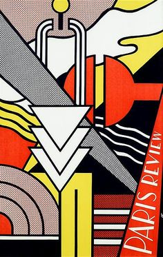 "ROY LICHTENSTEIN, (AMERICAN 1923-1997), ""PARIS REVIEW POSTER"""