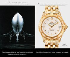 Read more: https://www.luerzersarchive.com/en/magazine/print-detail/breitling-2831.html Breitling Conquering the skies and space brought men a lot of progress. Particularly with regard to conquering women. Tags: Eliane Girard,Catherine Castel,Breitling,DDB, Paris