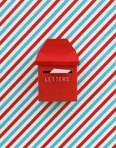 Mini post box  http://uponafold.com.au/blog/post/mini-post-box/