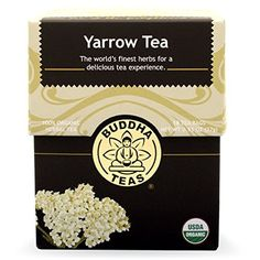 Yarrow Tea - Organic Herbs - 18 Bleach Free Tea Bags by Buddha Teas -- Awesome products selected by Anna Churchill