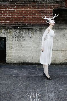 need to wear white antlers