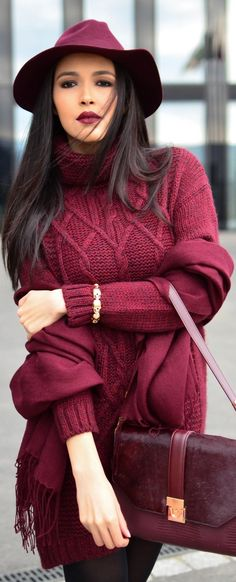 Love the sweater! Idk about the whole outfit.