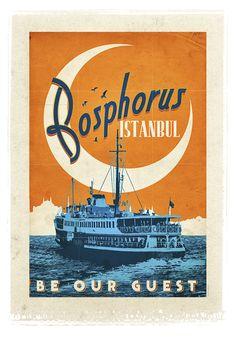 Bosphorus (İstanbul Boğazı) - Münir Nurettin Selçuk'a besteler yaptıran, Napoleon Bonaparte'ı aşka getiren, her göreni kendine aşık eden bir şehir... Ve ona, tüm dünyada iki kıtayı birleştiren tek şehir olma unvanını kazandıran kusursuz güzellikteki İstanbul Boğazı... Şimdi duvarınızda...
