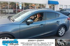 https://flic.kr/p/GDxH4a | Happy Anniversary to Jorge on your #Mazda #Mazda3 from Ken Gilbert at Mazda of Mesquite! | deliverymaxx.com/DealerReviews.aspx?DealerCode=B979
