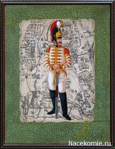 Guerres Napoléoniennes №43 agent en chef du régiment Life Guards, 1812