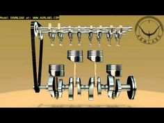 ▶ Four Stroke Engine How it Works - YouTube