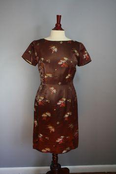 50er Jahre Kleid / / asiatisch inspirierte von LawrenceOfBaltimore