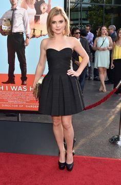 Actress Rose McIver