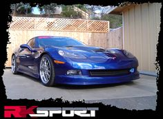 Chevy Corvette C6 (URETHANE) Ground Effects Package 05 06 07 08 09 10 - RKSport http://www.carbodykitstore.com/chevrolet-corvette-urethane-ground-effects-package-rksport-p-7047.html?cPath=22_1259_1260