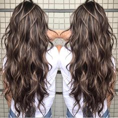 Black Coffee Hair With Ombre Highlights - 10 Cool Ideas of Coffee Brown Hair Color - The Trending Hairstyle Brown Hair Balayage, Brown Blonde Hair, Brown Hair With Highlights, Brunette Hair, Golden Brown Hair, Light Brown Hair, Brown Hair Shades, Brown Hair Colors, Blonde Shades