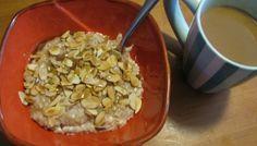 Maple Almond Oatmeal-  205 calories