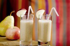 Recette détox : Pomme(s) rouges : 4 pièce(s);Poire(s) : 3 pièce(s);Banane(s) : 2 pièce(s). Mixer le tout.