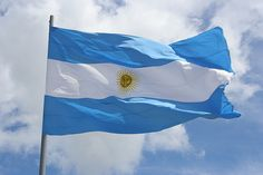 Argentina National Flag - The Story of The Argentine Flag Explained Argentina Flag, Argentina Soccer, National Anthem, National Flag, Bolivia, Chile, Flags Of The World, Largest Countries, Lower Back Tattoos