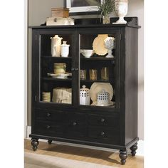 Shop for the Liberty Furniture Whitney Display Cabinet with 5 Drawers and 3 Shelves at Pilgrim Furniture City - Your Hartford, Bridgeport, Connecticut Furniture & Mattress Store Glass Shelves, Display Shelves, Display Cabinets, Storage Cabinets, Wall Shelves, Display Ideas, Dining Cabinet, Cabinet Dimensions, Glass Panel Door