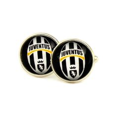 Juventus F.C. Logo cufflinks. Italian football club. Personalised  Men's jewelry accessories gift. by Mysstic on Etsy