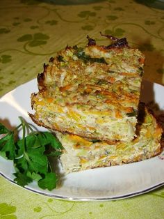 Budinca de dovlecel cu morcovi Dukan Diet, Chia Seeds, Quiche, Recipies, Food And Drink, Gluten, Pudding, Breakfast, Mariana