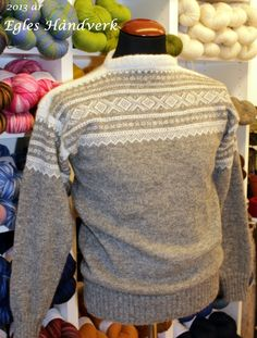 Marius genser- fine farger Norway, Knit Crochet, Men Sweater, Pullover, Knitting, Create, Sweaters, Inspiration, Outfits