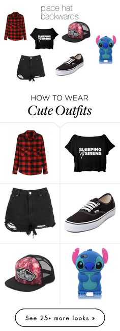 """""""Sophia's Outfit"""" by joseestela on Polyvore featuring Vans"""