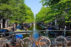 #amsterdam #holland  Bikes and Boats in Summer - Bussines and Marketing: I´m looking forward for a new opportunity about my degrees dinamitamortales@ gmail.com