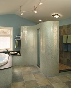 Contemporary Bathroom Shower Design, Pictures, Remodel, Decor and Ideas - page 25