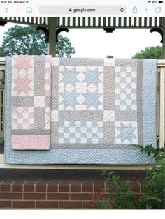 Ritzy Bitsy Babies Quilt Pattern at Annie's Baby Boy Quilt Patterns, Beginner Quilt Patterns, Star Quilt Patterns, Quilting Ideas, Quilting Tutorials, Hand Quilting, Quilting Projects, Sewing Projects, Diy Projects
