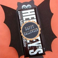 Halloween Candy Bar Covers. A cute, quick way to make a co-workers or teachers day! #StayCurious