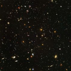 1 telescope, hundreds of pictures over about three months, for over 11 days' worth of exposure time = thousands of galaxies over 12 billion years old. Awesome.