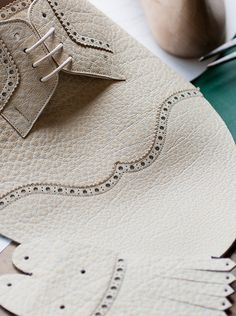 Upper stitches -  Tye shoemaker