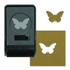 660159 Butterfly, Large Punch by Sizzix ~ Crafters' Palette