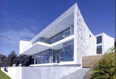 #Modern #white #house #architecture #dream