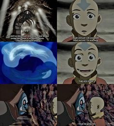 Koh is one of my favorite spirits.  And this is how the spirit world is suppose to look!!! Gosh Kora!!!
