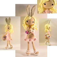 Bunelope doll amigurumi - FREE