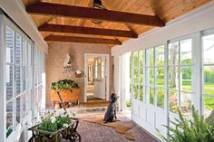 When it comes to remodeling your house, there is no other area of the home that is usually more fun to remodel than the garage Future House, My House, House Roof, Bungalow, Covered Walkway, Garage Addition, Garage Remodel, Breezeway, Home Additions