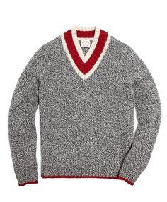 Marled Wool Cricket Sweater