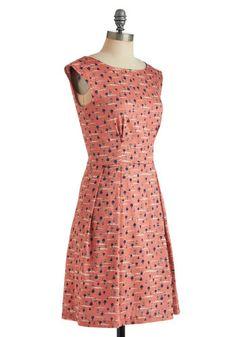 Fantastical Voyage Dress, #ModCloth