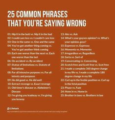 Forum | ________ Learn English | Fluent Land25 Common Phrases That You're Saying Wrong | Fluent Land