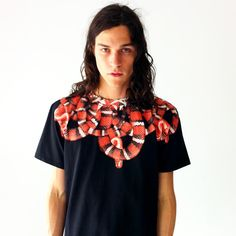 "Marcelo Burlon County Of Milan: Snake ""MOON"" T-Shirt!  Fall 2012 Must Have!"