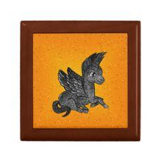 Gift Box Dark pegasus illustration