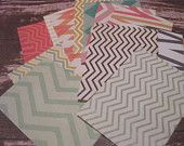 chevron journal spots -- great for project life