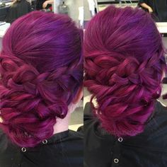 Joico magenta, amethyst purple, and orchid