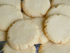 Not the normal Chinese almond cookies that you get at a restaurant, but more of a shortbread type of almond cookie. A family favorite almond cookie recipe.