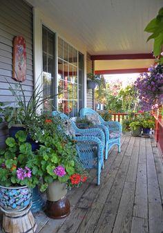 La Maison Boheme: Cutest porch EVER...
