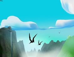 """Check out new work on my @Behance portfolio: """"KONG the Forgotten Valley"""" http://be.net/gallery/51324031/KONG-the-Forgotten-Valley"""