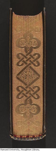 BOTTOM EDGE Title : Imitatio Christi. English. Published : London : Swan Sonnenschein & Co., 1889.