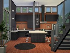 The Sims Resource: Elements residential home by Chemy